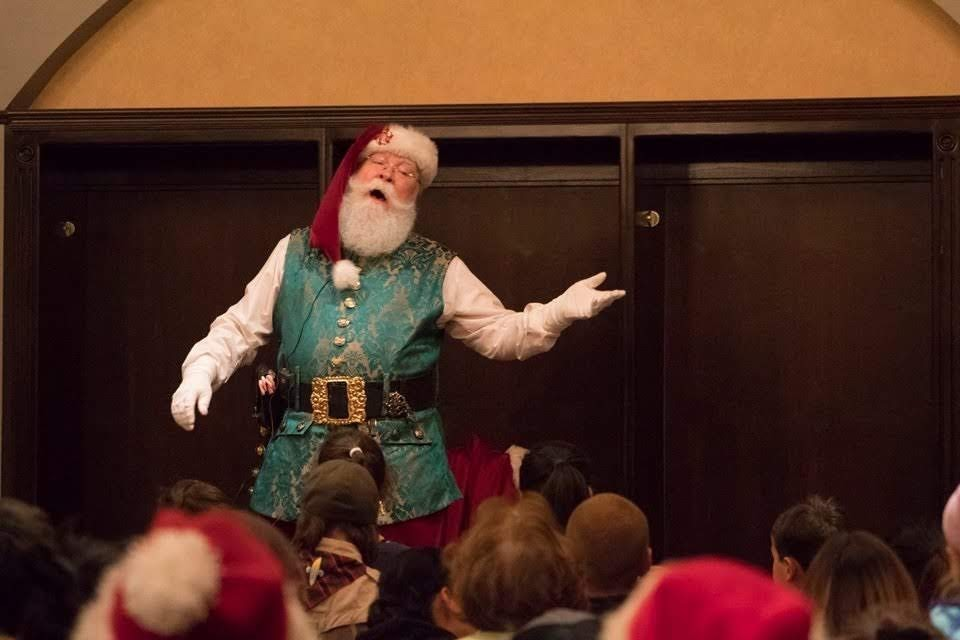 Sing with Santa!