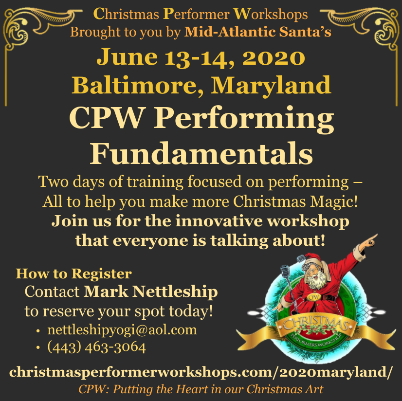 June 13-14, 2020 Baltimore, MD - CPW Performing Fundamentals